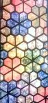 "Hexagon Jewel 1""  ablakos sablon"