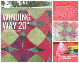 Winding ways- 20 cm