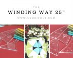 Winding ways- 25 cm