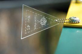 Mini 45 fokos háromszög (Jelly Roll)