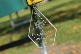 Mini hexagon jewel (Jelly Roll)